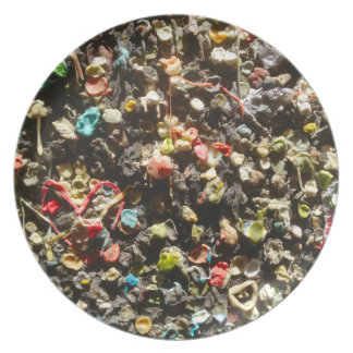 Old Gum Gross Out Plate