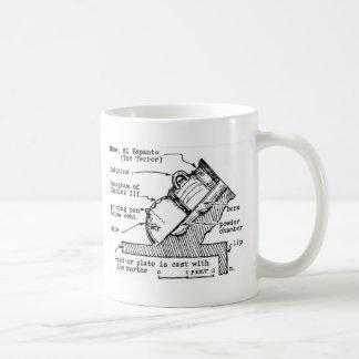 old gun classic white coffee mug