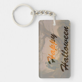 Old Halloween double-sided Keychain