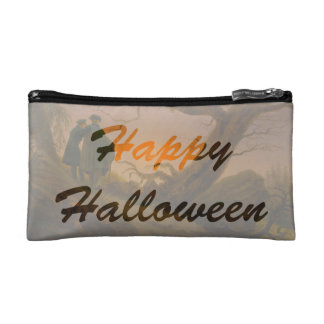 Old Halloween double-sided Makeup Bag