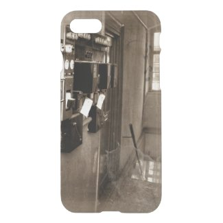 old hallway iPhone 7 Clearly™ Deflector Case