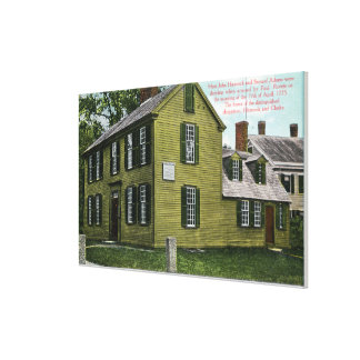 Old Hancock Clark House View # 2 Gallery Wrap Canvas