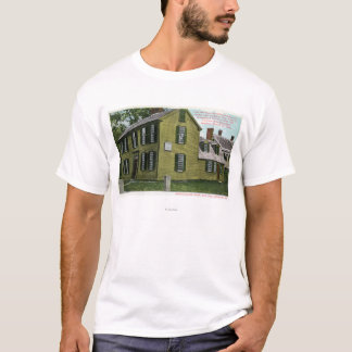 Old Hancock Clark House View # 2 T-Shirt