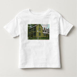 Old Hancock Clark House View # 2 Toddler T-shirt