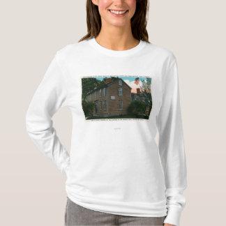 Old Hancock Clark House View # 3 T-Shirt