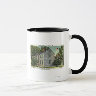 Old Hancock Clark House View, Paul Revere Rode B Mug