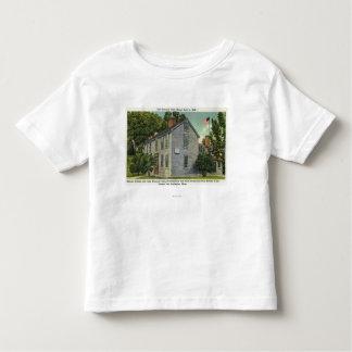 Old Hancock Clark House View, Paul Revere Rode B Toddler T-shirt
