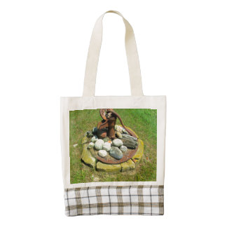 Old Hand Pump Well Zazzle HEART Tote Bag