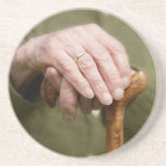 old hands of a on seniores lean walking bordas posavasos manualidades