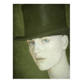 Old Haut de Forme Hat Postcard