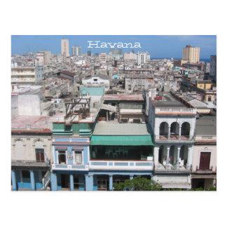 old havana postcard