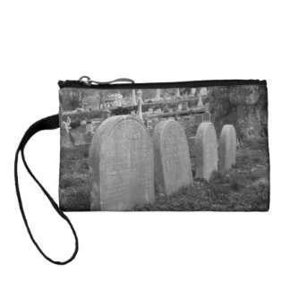 old headstones coin purse