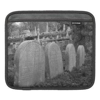 old headstones iPad sleeves