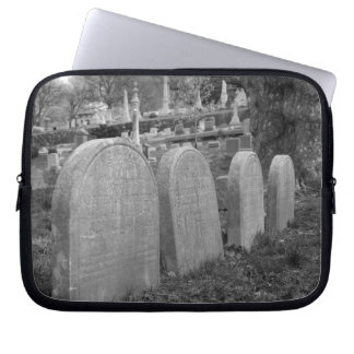 old headstones laptop sleeve