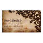 Old Hessian Coffee Bean Photo - Business Card