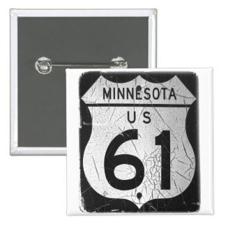Old Highway 61 sign Pins