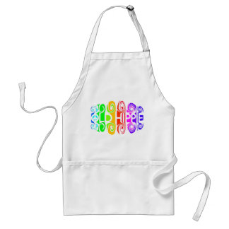 OLD HIPPIE apron - choose style