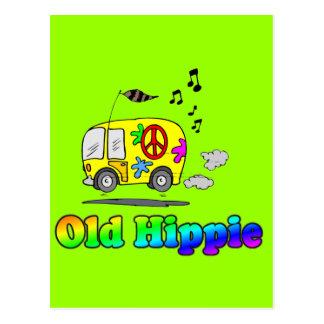 Old Hippie Bus Postcards