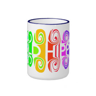 OLD HIPPIE mug - choose style & color