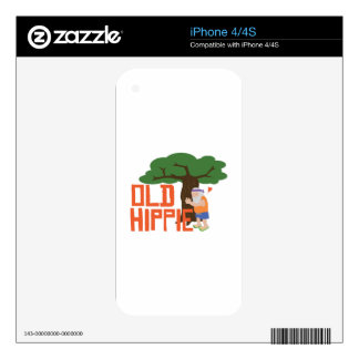 Old Hippie Skin For The iPhone 4S