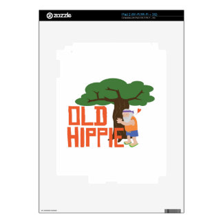 Old Hippie Skins For iPad 2