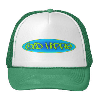 Old Hippie Trucker Hat