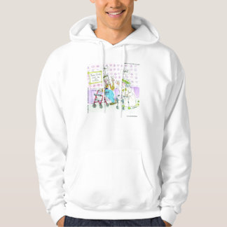 Old Hippies Home Funny Hoodie by Rick London
