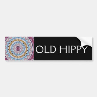 OLD HIPPY BUMPER STICKERS