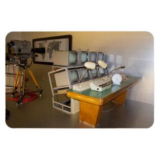 old historic tv studio magnet
