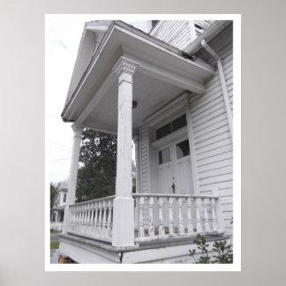 Old Historical White Church White Springs Florida Print