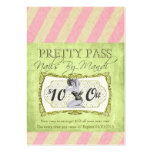 Old Hollywood $10 Off Pretty Pass Business Cards