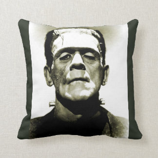 Old Hollywood Monster Throw Pillow