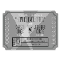 Old Hollywood Ticket Style Invitation Announcement (<em>$2.26</em>)