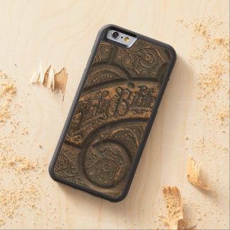 Old holy bible carved® maple iPhone 6 bumper case