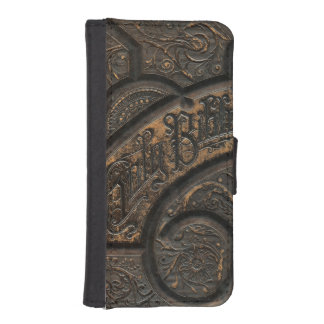 Old holy bible wallet phone case for iPhone SE/5/5s