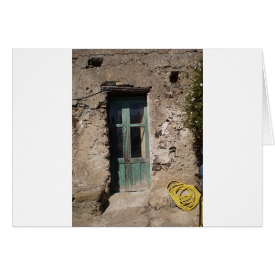 Old home Italy Card
