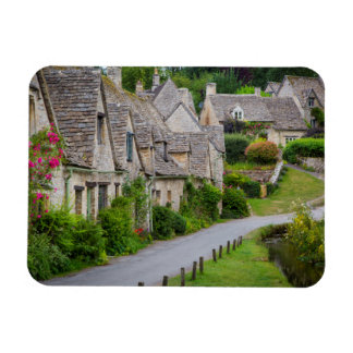 Old homes built for the local weavers rectangular photo magnet