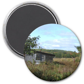 Old Homestead 3 Inch Round Magnet