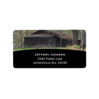 Old Homestead Address Labels label