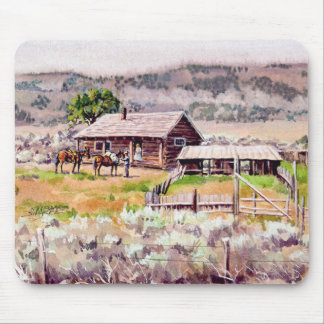 OLD HOMESTEAD by SHARON SHARPE Mouse Pad