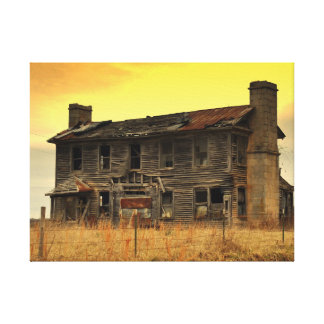 Old Homestead Gallery Wrap Canvas