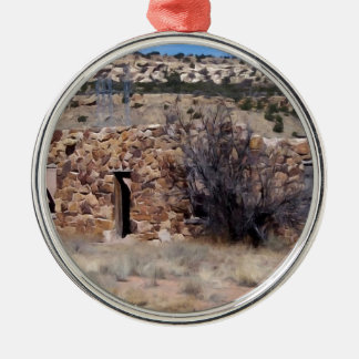 Old Homestead House of Stone Christmas Tree Ornaments
