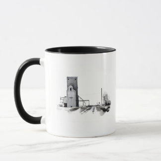 Old Hometown Elevator Mug