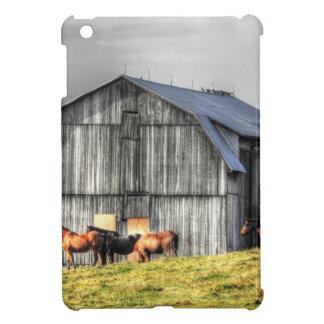 old horse barn iPad mini cases