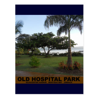 Old Hospital Park, Montego Bay Jamaica Postcard