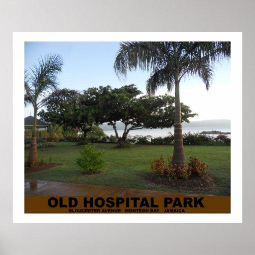 Old Hospital Park Montego Bay Jamaica Poster Print