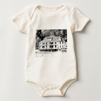 Old Hotel in the Mountains Sketch Baby Creeper