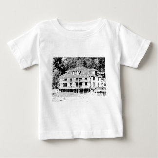Old Hotel in the Mountains Sketch Baby T-Shirt