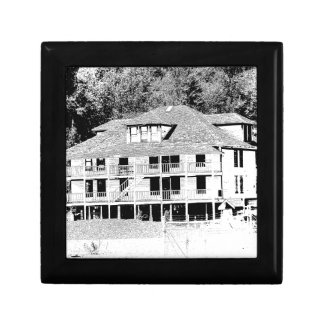 Old Hotel in the Mountains Sketch Keepsake Box