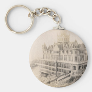Old Hotel, Long Gone Keychain
